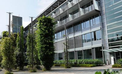 Klinik Aarau Haus B Eingang seitlich