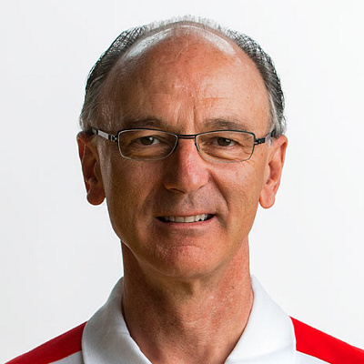 Cuno Wetzel, Arzt der Schweizer Fussball Nationalmannschaft, am Mittwoch, 1. Juni 2016 in Lugano. (KEYSTONE/Peter Schneider)