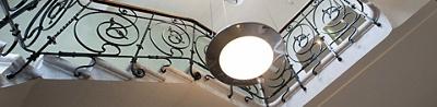 Escaliers Clinique La Colline