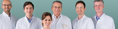 Gruppenbild der Ärzte des Zentrum für Rheuma- und Knochenerkrankungen