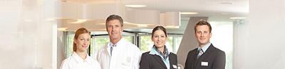 Hirslanden Privé Mitarbeiter Gruppenbild