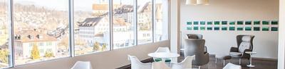 Privé-Lounge der Hirslanden Klinik Aarau