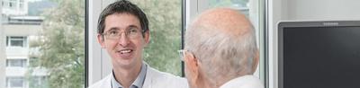 Dr. Barinka im Gespräch