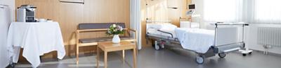 Einzel-Zimmer Operationszentrum Bellaria