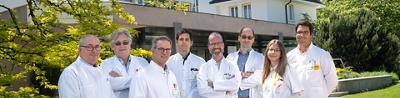 Equipe du Centre de la prostate de Genève