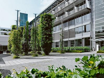 Haus B der Hirslanden Klinik Aarau