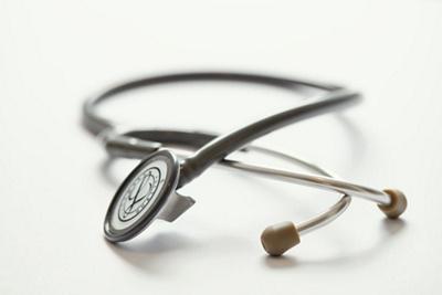 Nahaufnahme Stethoskop