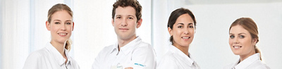 Pflegefachpersonen Teambild