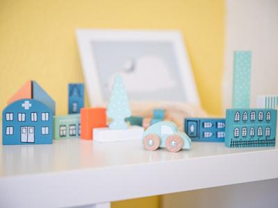 Spielzeug im Wartebereich im Hirslanden Baby Ambulatorium Aarau