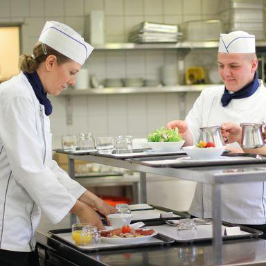 Küchenteam der Klinik Birshof