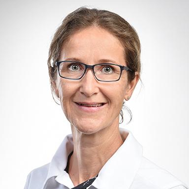 Ursula Rüegg, dipl. Physiotherapeutin Klinik Stephanshorn
