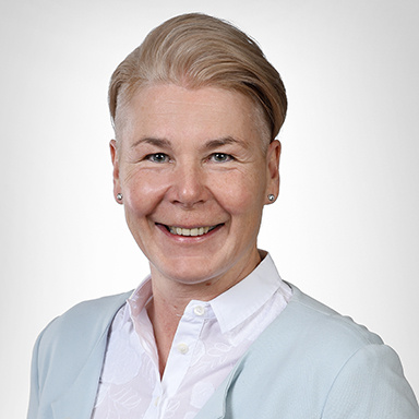 Portrait von Andrea Rütsche - Direktorin Klinik Stephanshorn