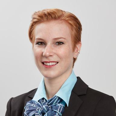 Portraitaufnahme von Rebekka Lückl
