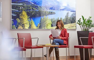 Wartebereich Radiologie Klinik Im Park Zürich