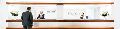 Rezeption Salem-Spital