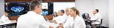 Tumorboard der Klinik Hirslanden Ärzte im Gespräch
